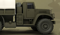 Military Truck Presentation Template
