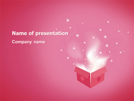 Love Box Presentation Template For Powerpoint And Keynote Ppt Star