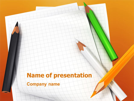 Notebook Presentation Template For Powerpoint And Keynote
