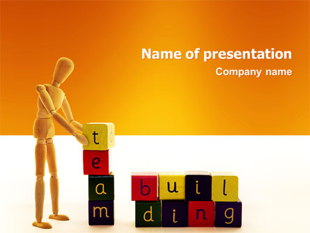 team building presentation template for powerpoint and
