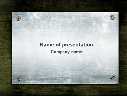 Steel board presentation template for powerpoint and keynote ppt star steel board presentation template master slide toneelgroepblik Choice Image