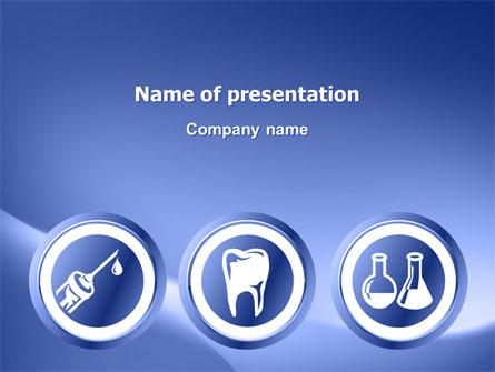 Dentist Clinic Presentation Template, Master Slide