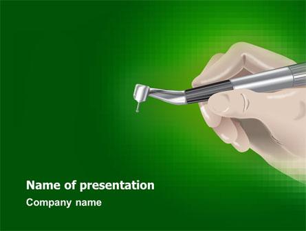Dentist Presentation Template, Master Slide