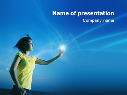 Future Concept Presentation Template, Master Slide