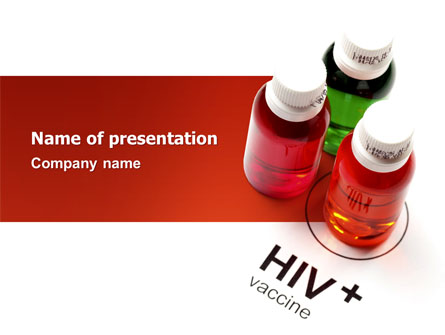 Hiv vaccine presentation template for powerpoint and keynote ppt hiv vaccine presentation template master slide toneelgroepblik Images