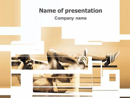 Working Hard Presentation Template, Master Slide