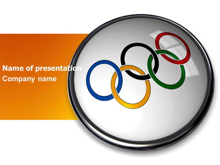 olympic symbol presentation template for powerpoint and keynote