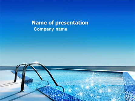 Swimming Pool Presentation Template For Powerpoint And Keynote Ppt Star
