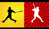 Baseball Bat Hit Presentation Template