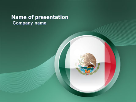 Mexico presentation template for powerpoint and keynote for Mexican themed powerpoint template