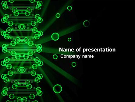 Dna spiral presentation template for powerpoint and keynote ppt star dna spiral presentation template master slide toneelgroepblik Image collections