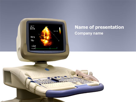 ultrasound presentation template for powerpoint and