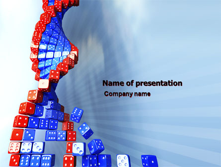 gene mutation presentation template for powerpoint and keynote ppt