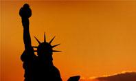 Sunset of Liberty Presentation Template