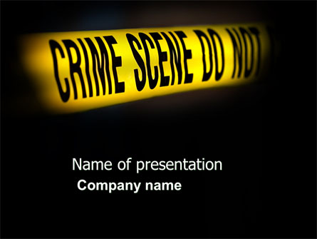 crime scene presentation template for powerpoint and keynote ppt star