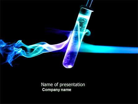 Industrial Chemistry Presentation Template for PowerPoint