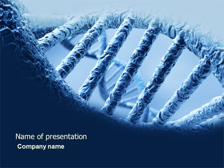 Dna Molecular Structure Presentation Template For