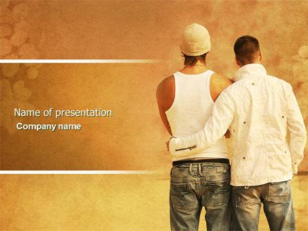 Homosexual relationships presentation template for powerpoint and homosexual relationships presentation template master slide toneelgroepblik Image collections