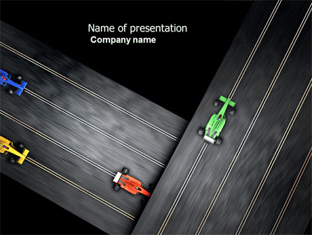Racing video game presentation template for powerpoint and keynote racing video game presentation template master slide toneelgroepblik Image collections
