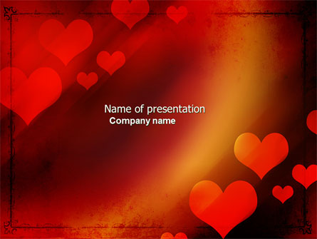 Love Theme Presentation Template For Powerpoint And Keynote Ppt Star
