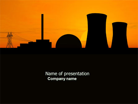 Nuclear Power Plant Presentation Template for PowerPoint and Keynote