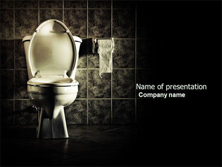 Water tap powerpoint template, backgrounds | 07138.