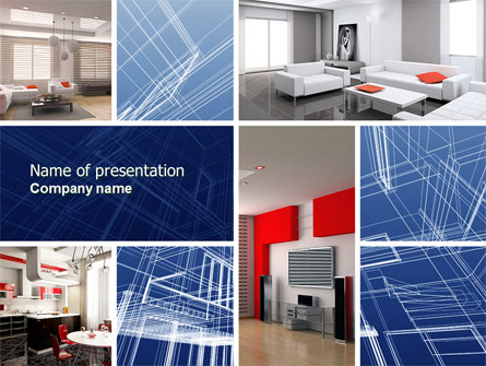 Interior Design In 3d Modeling Presentation Template For Powerpoint And Keynote Ppt Star
