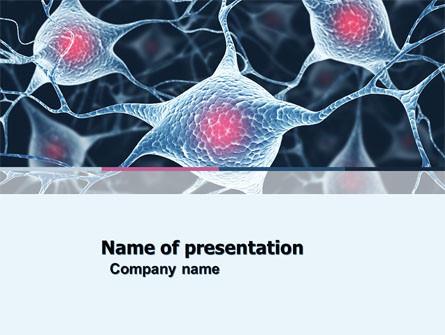Neurons presentation template for powerpoint and keynote ppt star neurons presentation template master slide toneelgroepblik Gallery