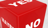 Decision Cube Presentation Template