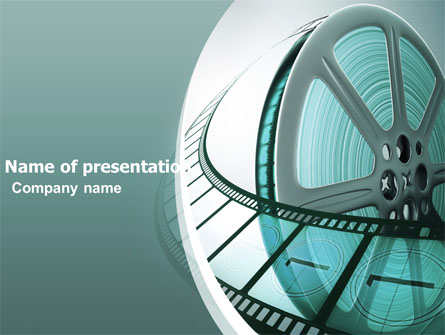 film reel presentation template for powerpoint and keynote | ppt star, Presentation templates