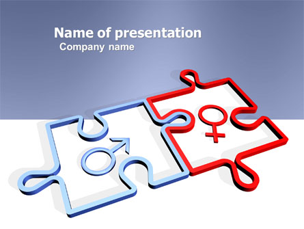 Gender relations presentation template for powerpoint and keynote gender relations presentation template master slide toneelgroepblik Image collections