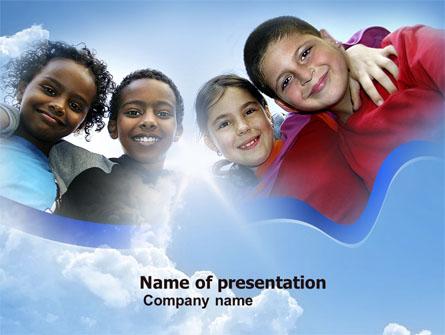 Cultural Diversity Presentation Template, Master Slide