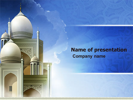 Islamic architecture presentation template for powerpoint and islamic architecture presentation template master slide toneelgroepblik Images