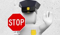 Traffic Police Presentation Template