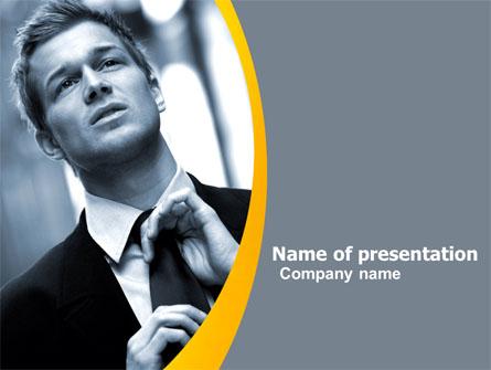Distress In Gray Color Presentation Template, Master Slide