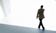 Walking Man Free Presentation Template