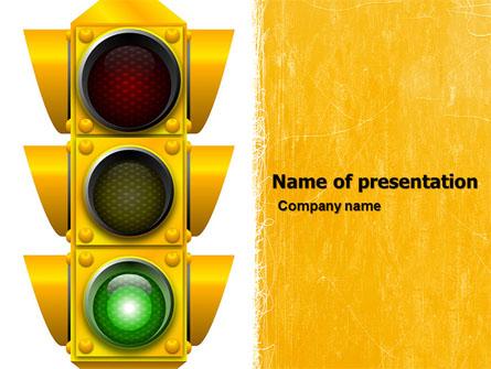 Traffic light presentation template for powerpoint and keynote ppt traffic light presentation template master slide maxwellsz