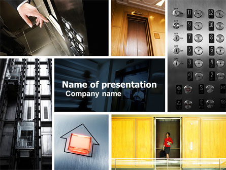 Hoist Presentation Template, Master Slide