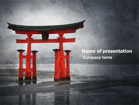 ancient japan presentation template for powerpoint and keynote, Presentation templates
