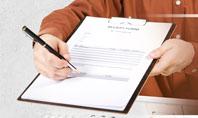 Receipt Form Presentation Template