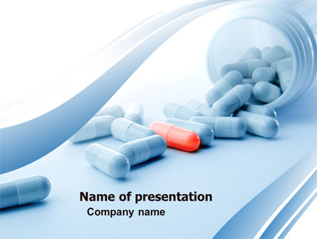 drug therapy presentation template for powerpoint and