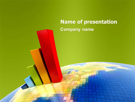 Economic Indexes Presentation Template For Powerpoint And Keynote