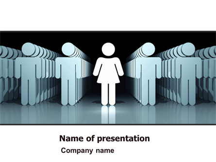 Gender inequality presentation template for powerpoint and keynote gender inequality presentation template master slide toneelgroepblik Image collections