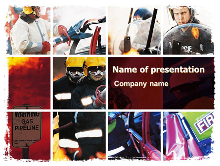 Emergency Situation Presentation Template, Master Slide