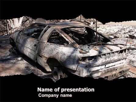 Car Bomb Presentation Template, Master Slide