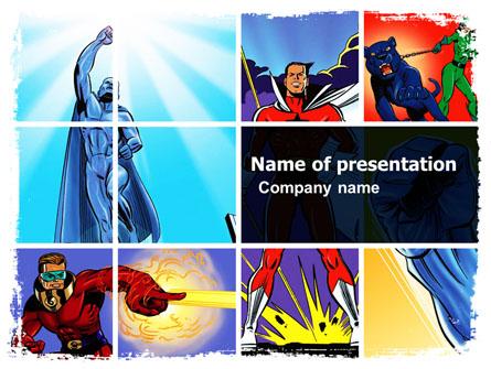 Superhero ppt template pertamini superhero ppt template toneelgroepblik Choice Image