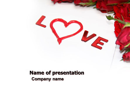 Love Presentation Template For Powerpoint And Keynote Ppt Star