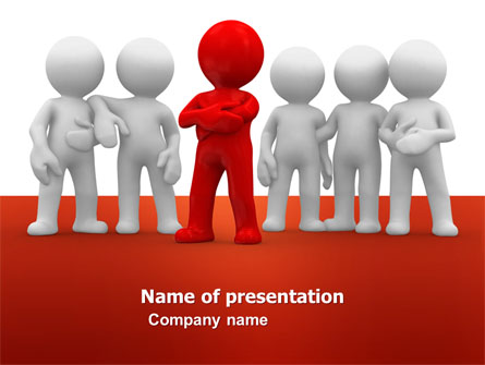 team leader presentation template for powerpoint and keynote  ppt, Presentation