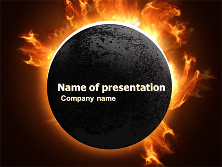Solar Eclipse Presentation Template for PowerPoint and Keynote | PPT ...
