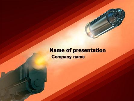Pistol Presentation Template, Master Slide
